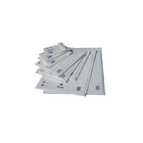 Bubble Lined White Postal Bags Assorted Sizes