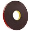 3M™ 4611F Grey Acrylic Foam Tape 12mm x 33m