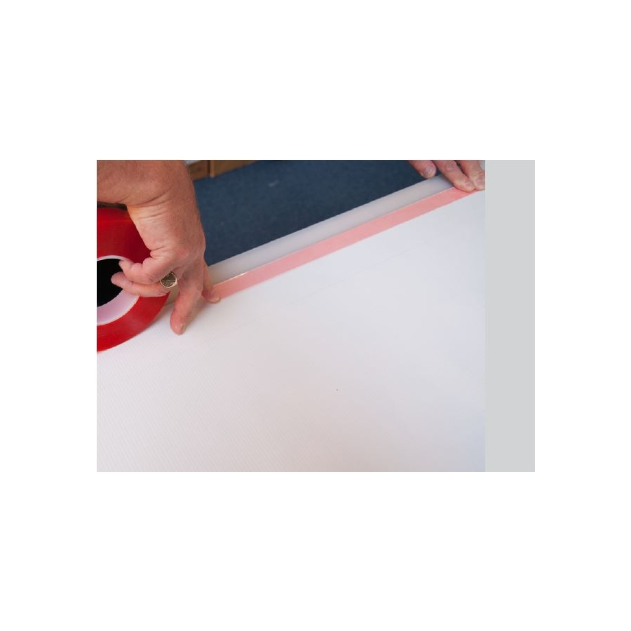 Tesa 174 51966 Banner Tape With Red Liner