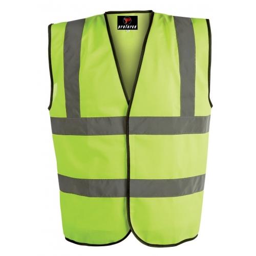 Proforce High-Visibility Class 2 Waistcoat Yellow - HV08