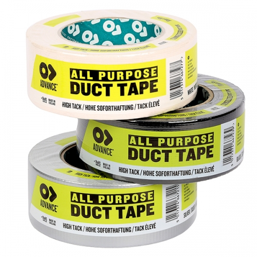 Advance AT132 Cloth / Gaffer tape - 50mm x 50m (black or sliver)