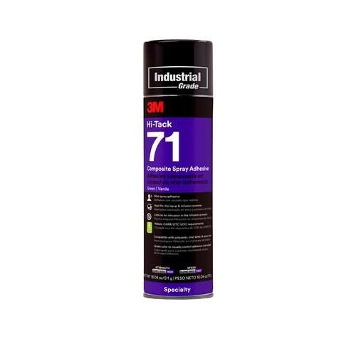 3M™ Spray 71 Hi-Tak Composite Adhesive 500ml Can