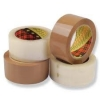 3M™ 371 Scotch Brown & Clear Packaging Tape 48mm x 66m (units of 6 rolls)