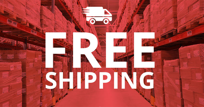 Free Shipping on orders over £25