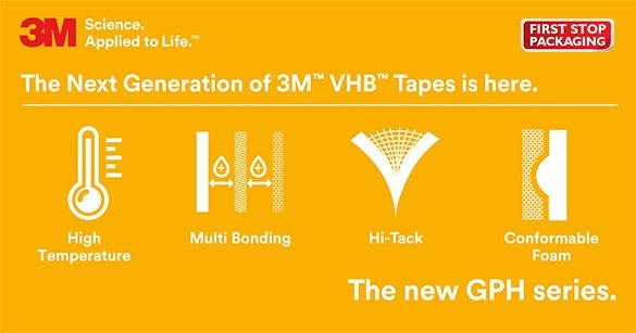 3M General Purpose High Temperature Tape | 3M™ VHB ™ GPH