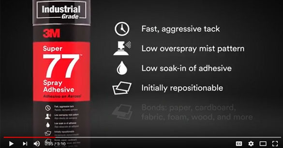 Find the Right Industrial Spray Adhesive for Any Job