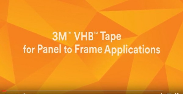 Using 3M™ VHB™ Tape - Step-By-Step Video Demonstration