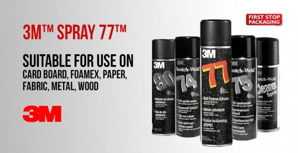 3M™ Spray 77™ Top Tips
